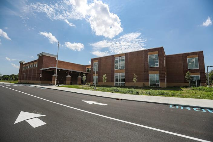 The schedule for Hamilton Southeastern students such as those at the newly built Southeastern Elementary School in Fishers, Ind., has been controversial. Roughly 82% of K-4 students and 77% of students in grades 5-12 are on a hybrid schedule.