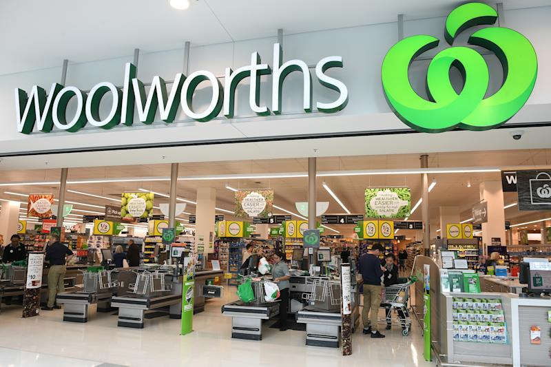 A general view of a Woolworths in Sydney. Source: AAP