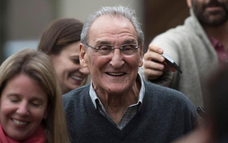 Vincent Asaro, pictured on the day of his acquittal for the