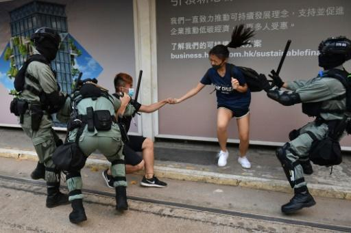 Beijing last month unveiled plans to enact a law banning acts of subversion, secession, terrorism and foreign interference after huge pro-democracy protests rocked Hong Kong