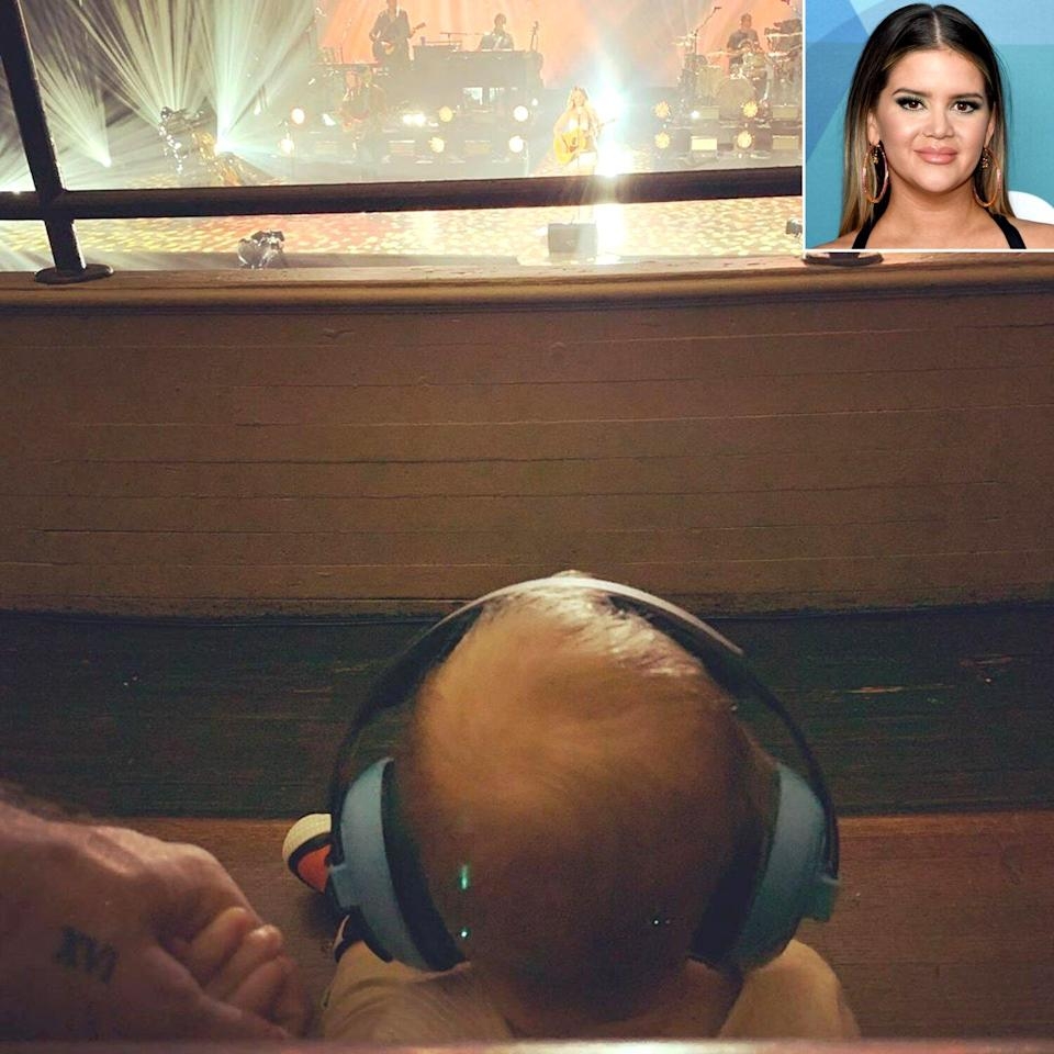 Maren Morris' Son Hayes Adorably Watches Her Perform on Virtual Tour: 'He Loved It'
