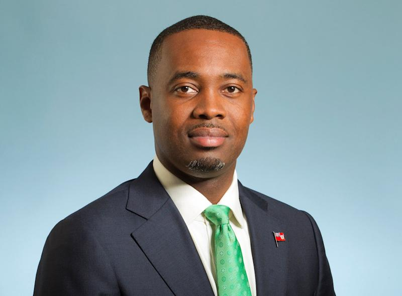 Premier David Burt, the leader of Bermuda. Photo: Bermudan Government