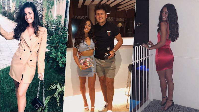 Harry Maguire's Girlfriend Fern Hawkins Becomes Hot Topic of Discussion Among Manchester United Fans! View Hot WAG Photos