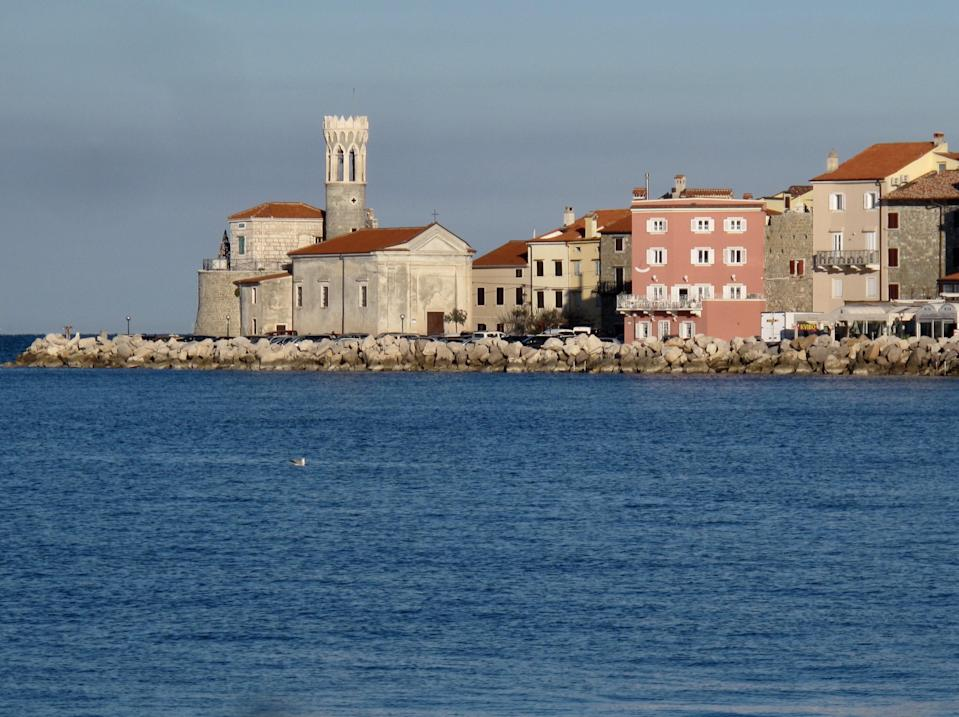 Happy days: Piran in Slovenia, location for the writer's last stay in an Airbnb (Simon Calder)