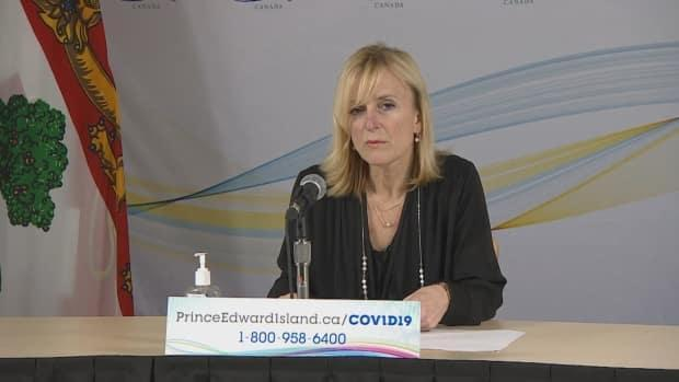Dr. Heather Morrison says members of the public may have been exposed to COVID-19 at a Summerside gym and two Summerside restaurants.