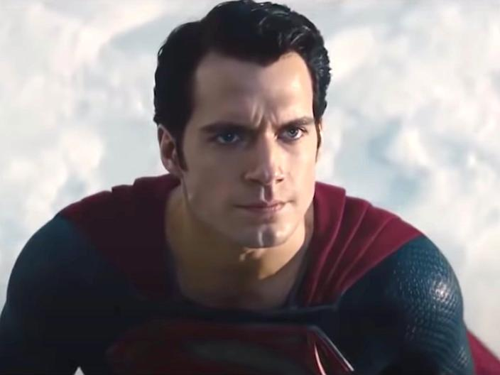 henry cavill man of steel superman