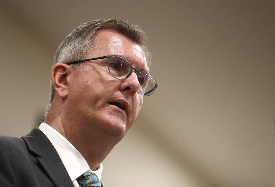 Sir Jeffrey Donaldson said the negotiations 'must not be a missed opportunity' (Peter Morrison/PA) (PA Wire)