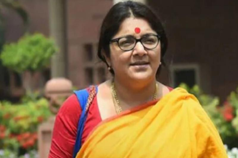 BJP MP Locket Chatterjee Says She Has Tested Positive for Covid-19, in Self-isolation for Past Week