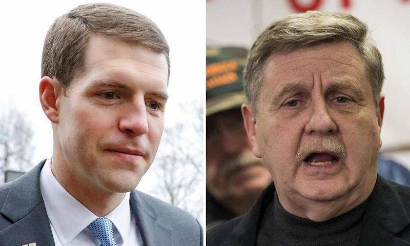 Pennyslvania special election candidates Conor Lamb and Rick Saccone.