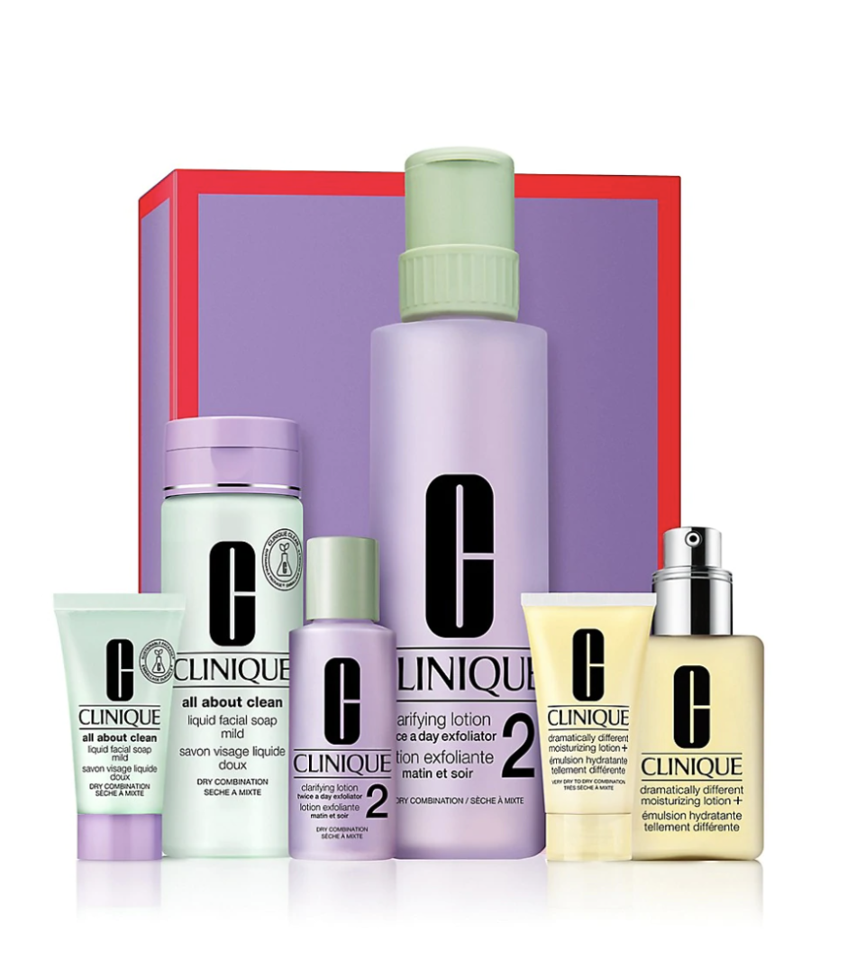 Great Skin Anywhere I-II Dramatically Different Moisturizing Lotion+ 6-Piece Set, $68 (originally $90)