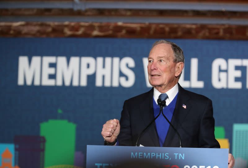 Bloomberg in South Carolina: Not on the ballot and not liked - poll