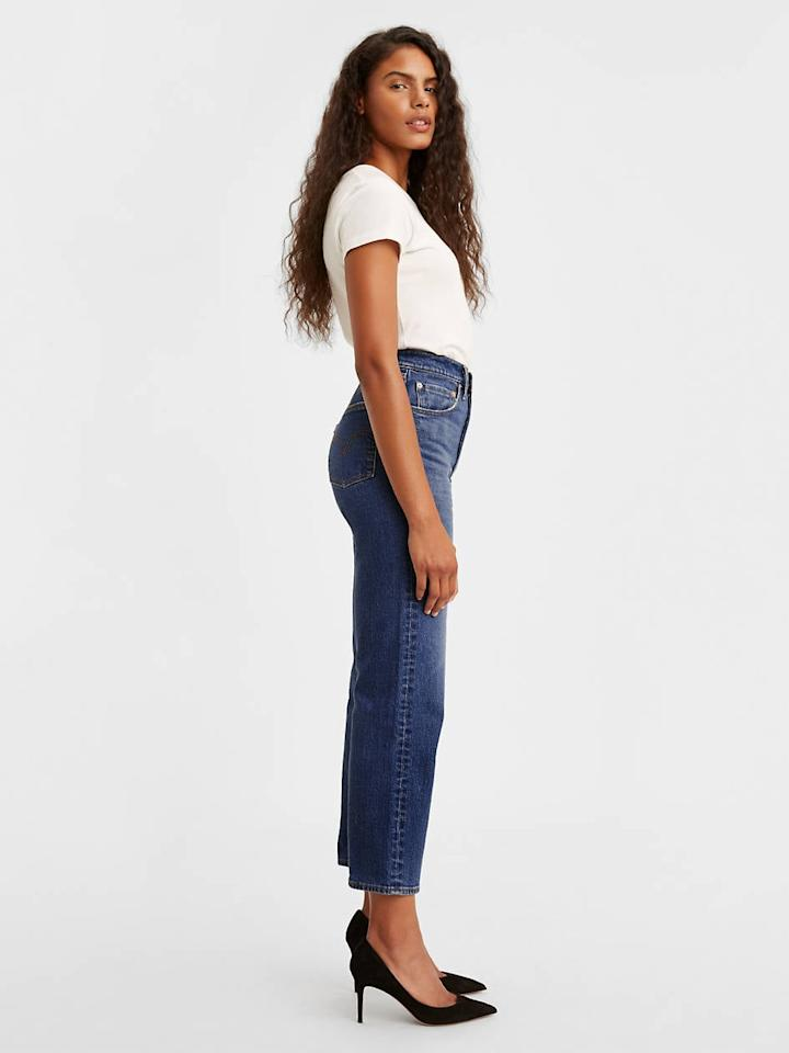 """<p>You can't go wrong owning these classic<product href=""""https://www.levi.com/US/en_US/clothing/women/jeans/ribcage-straight-ankle-womens-jeans/p/726930054"""" target=""""_blank"""" class=""""ga-track"""" data-ga-category=""""internal click"""" data-ga-label=""""https://www.levi.com/US/en_US/clothing/women/jeans/ribcage-straight-ankle-womens-jeans/p/726930054"""" data-ga-action=""""body text link"""">Levi's Ribcage Straight Ankle Jeans</product> ($98).</p>"""