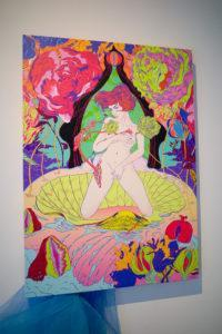 """""""The Rebirth of Venus – Into the Vulva-verse"""" by Kristal Melson. Photo: Carolyn Teo/Coconuts"""