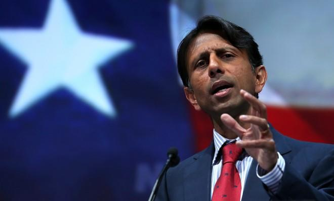 Gov. Bobby Jindal may just be telling Republicans what they want to hear.