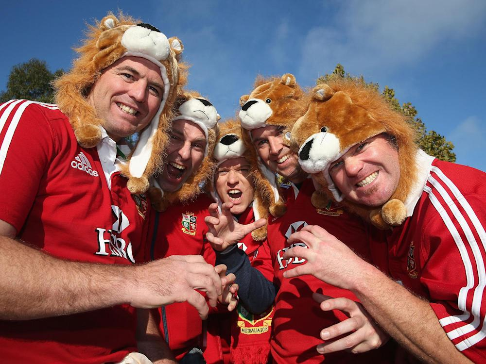 British and Irish Lions fans are being put up by their New Zealand counterparts: Getty