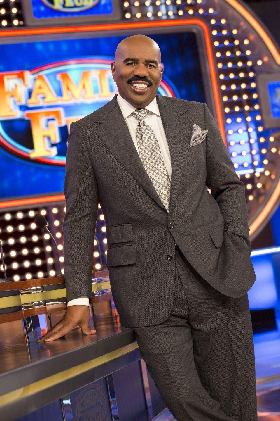 """<p>During his time at Kent State University, Steve Harvey pledged and became a <a href=""""https://oppf.org/about-omega/notable-omegas/"""" rel=""""nofollow noopener"""" target=""""_blank"""" data-ylk=""""slk:member of Omega Psi Phi"""" class=""""link rapid-noclick-resp"""">member of Omega Psi Phi</a>. The comedian is now committed to helping others access an education and has <a href=""""https://www.usatoday.com/story/entertainment/celebrities/2019/07/01/college-costs-comedian-steve-harvey-fund-8-kent-state-freshman/1615692001/"""" rel=""""nofollow noopener"""" target=""""_blank"""" data-ylk=""""slk:created numerous scholarships at his alma mater"""" class=""""link rapid-noclick-resp"""">created numerous scholarships at his alma mater</a> for students. </p>"""