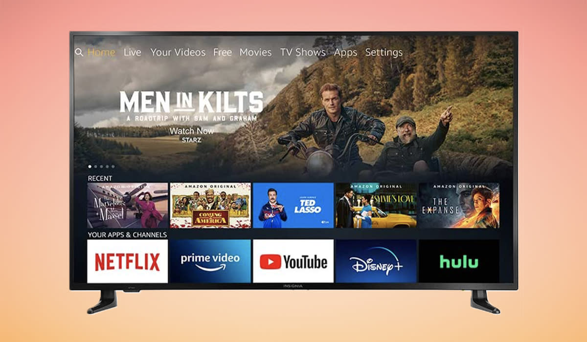 This TV's pretty smart. You grabbing one for $170 off? Even smarter. (Photo: Amazon)