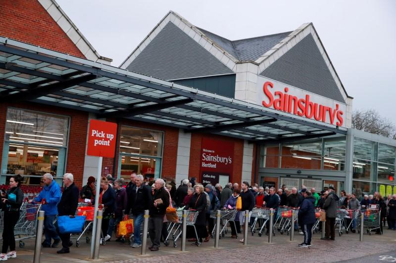 Sainsbury's to remove most customer purchasing limits