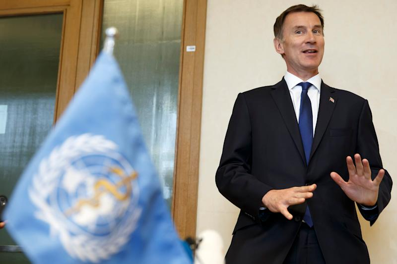 Foreign Secretary Jeremy Hunt is expected to challenge for the leadership (Salvatore Di Nolfi/Keystone via AP)