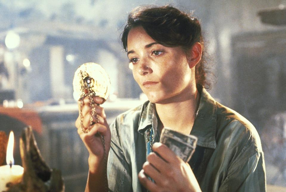"""Karen Allen loved Marion's introductory scene in """"Raiders"""" as the hard-drinking owner of a Nepalese bar."""