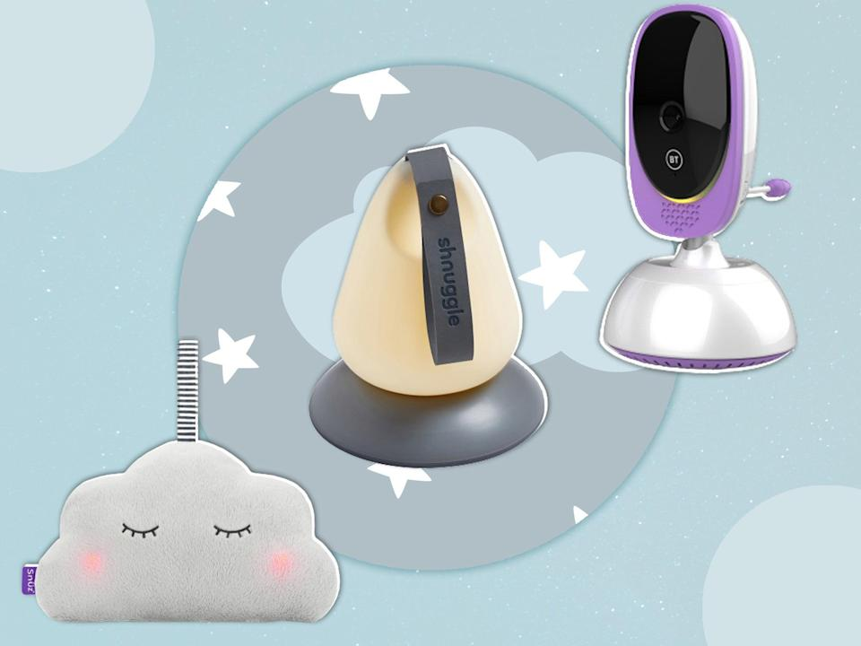 <p>From mobiles and projection shows to cocoons and cuddly toys that play songs or soothing noise there's plenty of choice when it comes to baby sleep aids</p> (iStock/The Independent)