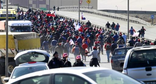 Peru copper miners strike, adding to Chile stoppage