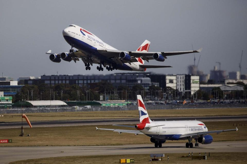 BA pilots have reported smelling fumes in the cockpit multiple times in two months: AFP via Getty Images