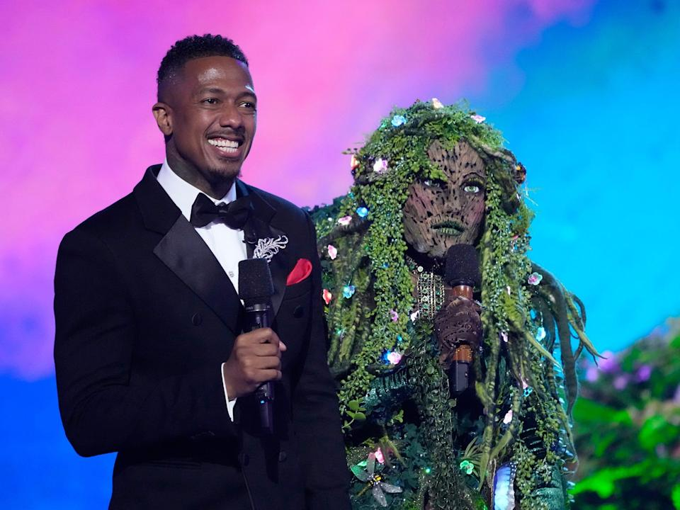 nick cannon and mother nature masked singer