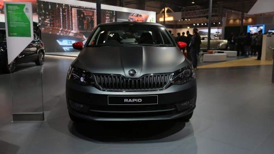 Prior to launch, features of SKODA RAPID Matte Edition leaked