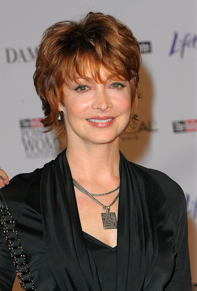 """<a href=""""http://movies.yahoo.com/movie/contributor/1800361493"""">Sharon Lawrence</a> at the Hollywood Reporter's Annual Women in Entertainment breakfast in Beverly Hills, CA - 12/04/2009"""