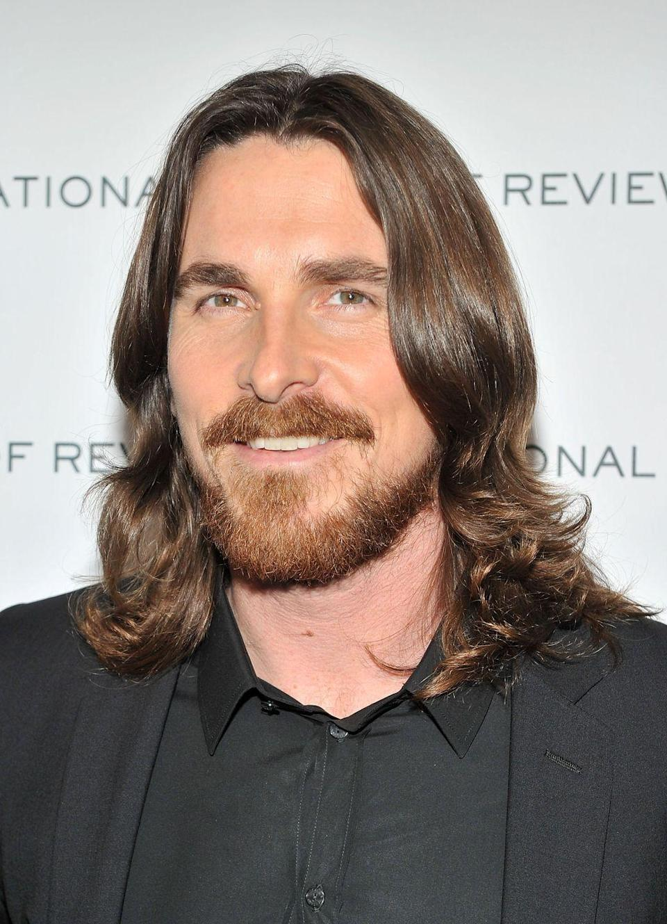<p>In 2011, Christian Bale piqued everyone's interest when he debuted a full beard and long hair at the Golden Globe Awards. Surprisingly, the actor who's famous for taking on dramatic transformations for roles wasn't growing it out for a movie, he was just enjoying a break between projects. </p>
