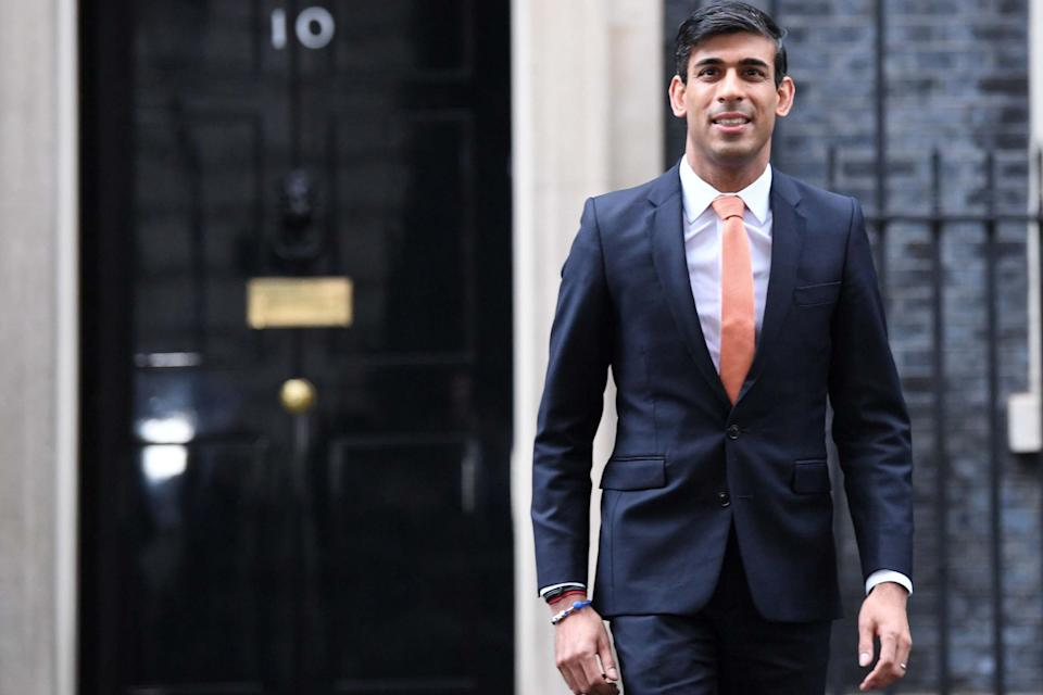 Rising star: Rishi Sunak may be inexperienced, but he has been a successful banker and knows the City well — vital for a Chancellor: PA