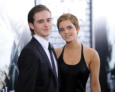 The beautiful actress Emma Watson has modeled for Burberry and graced the cover of  <i>Teen Vogue</i> but her little brother Alex is a hot model in the fashion world too.