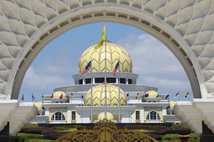 A general view of Malaysia's National Palace in Kuala Lumpur