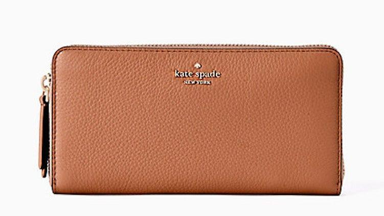 Save more than $100 on this luxe leather wallet.