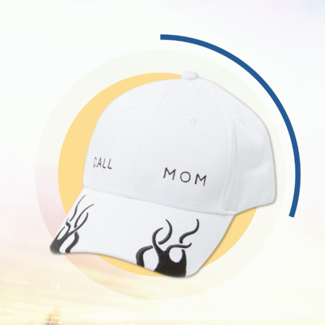 "<p>She wants to make sure you're staying hydrated :)<span></span></p><p><span>$35, <a rel=""nofollow"" href=""http://www.collinastrada.com/merch/see-now-buy-now-ss17-call-mom-hat"">collinastrada.com</a>.</span></p>"