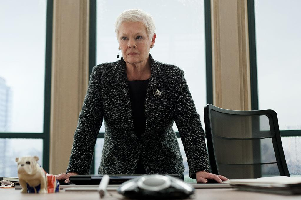 """Judi Dench in Columbia Pictures' """"Skyfall"""" - 2012"""