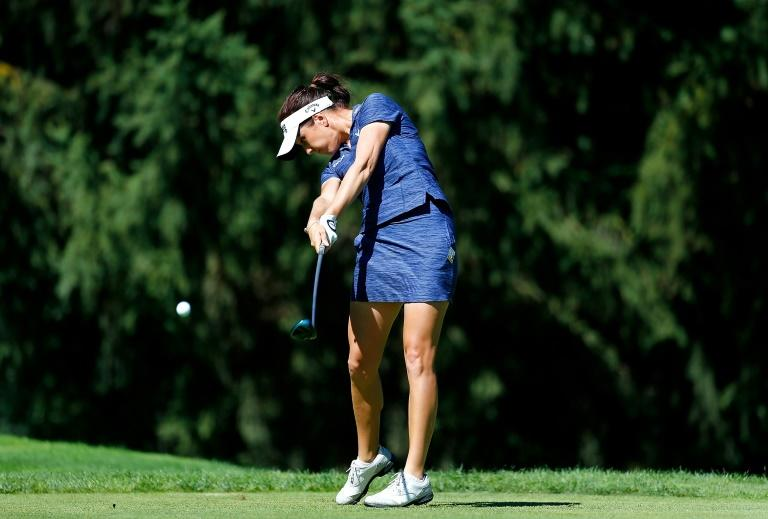 Georgia Hall, who won her first major title at last month's Women's British Open, was unable to hold onto her lead to finish second at the Portland Classic