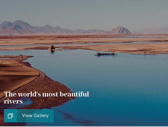 The world's most beautiful rivers