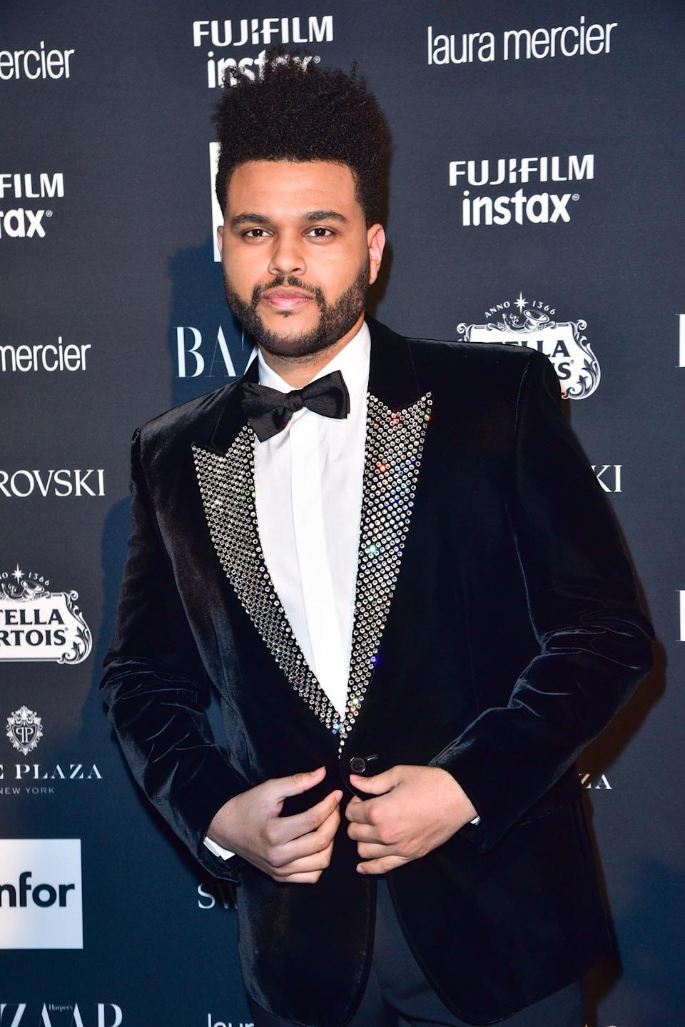 <p>In the following year, The Weeknd slightly grew out his hair into a longer faded cut.</p>