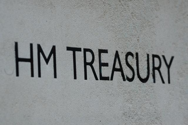 A view of signage for HM Treasury (Kirsty O'Connor/PA)