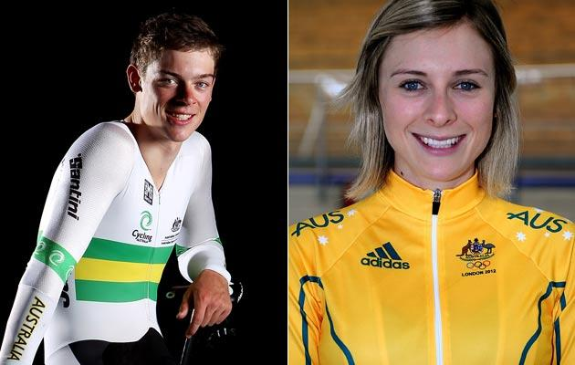 Annette And Alexander Edmondson [AUSTRALIA]: The 2012 London Games are the first Olympics for the 18-year-old Alex, who made his first senior Australian team only in 2011. His elder sister, Annette, won bronze in track cycling's multi-discipline women's omnium as British rider Laura Trott snatched the gold medal from American Sarah Hammer.