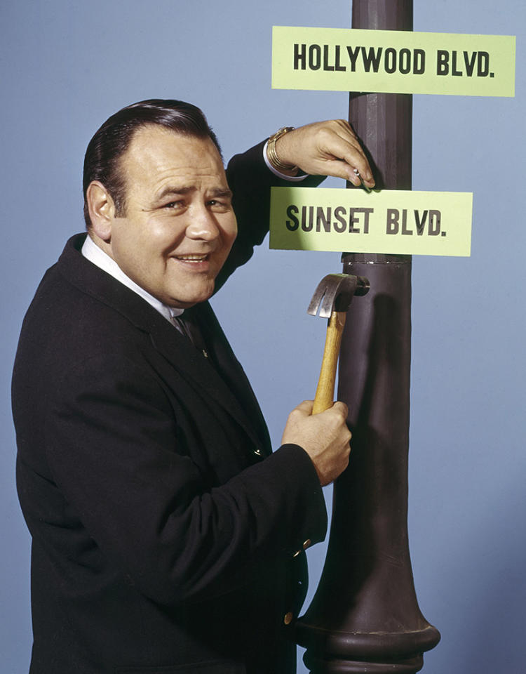 JONATHAN WINTERS -- Pictured: Actor/Comedian Jonathan Winters -- Photo by: Gerlad Smith/NBC/NBCU Photo Bank