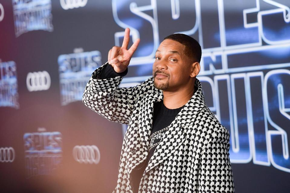 Will Smith helped New Orleans celebrate 4 July (Getty)