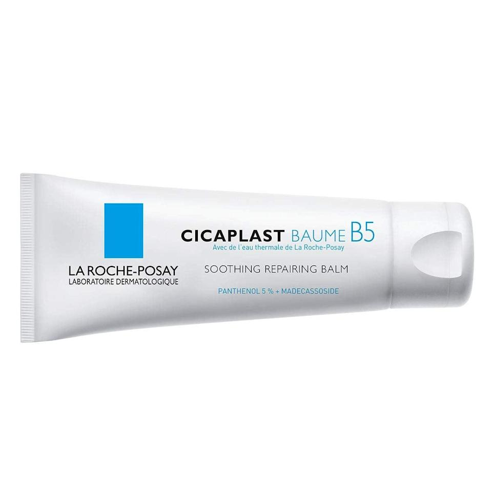 <p>Handle dry, irritated skin with the <span>La Roche-Posay Cicaplast Baume B5 Balm</span> ($15). It will soooth, protect, and heal your skin in just a few uses.</p>