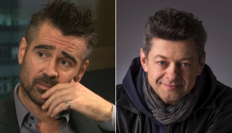 Colin Farrell cast as The Penguin, Andy Serkis as Alfred in The Batman