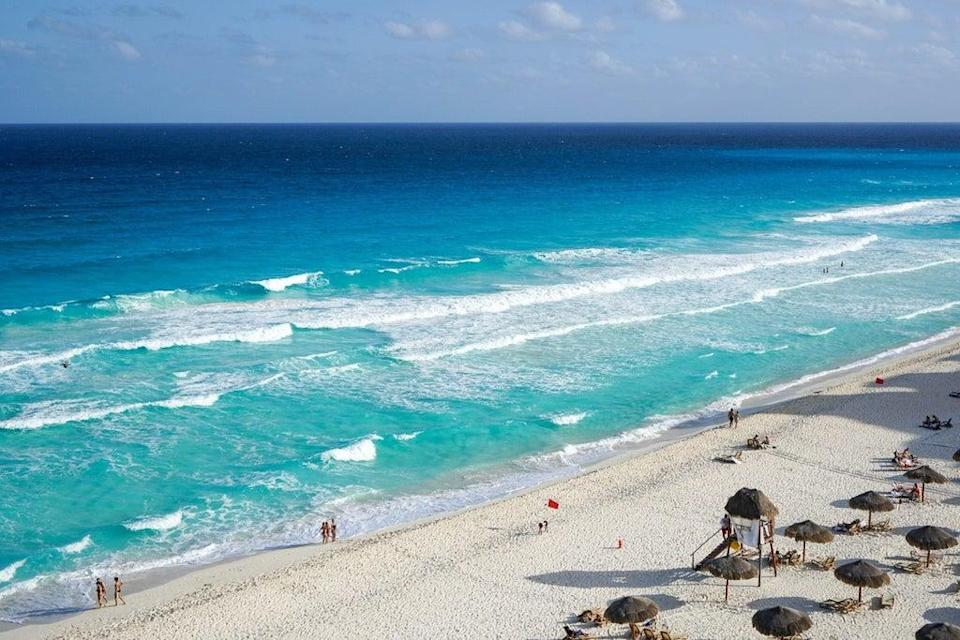 Cancun is seeing a big rise in interest from UK travellers seeking some winter sunshine  (Pixabay)