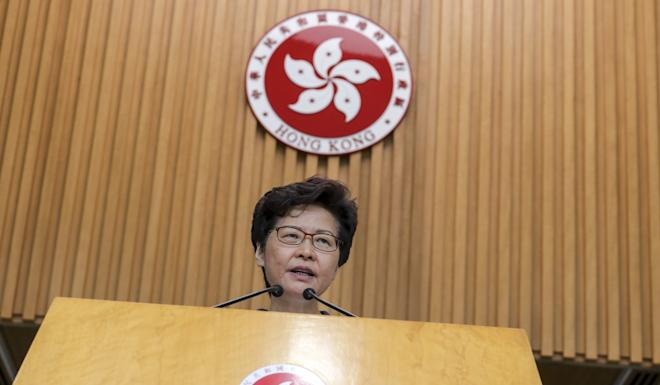 The murder case was cited by Hong Kong leader Carrie Lam as a key justification to push through the extradition bill. Photo: May Tse