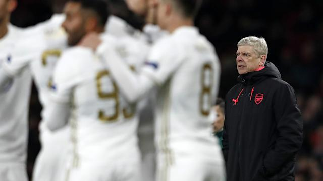 Arsene Wenger had a night to forget against Ostersunds.