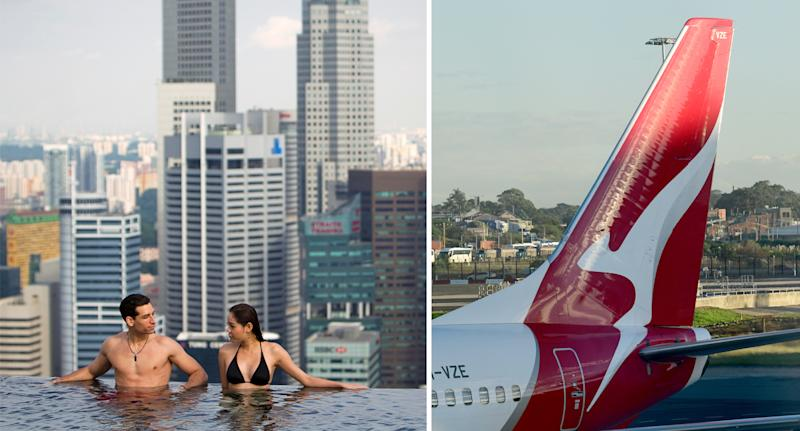 Singapore will allow visitors from Australia from next week. Source: AAP